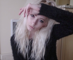 hair, cute, and white image