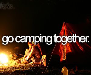 camping, bucket list, and boy image