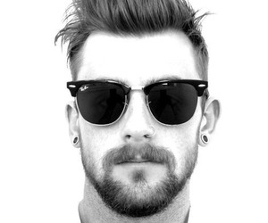 boy, beard, and man image