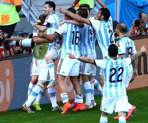 argentina and worldcup image