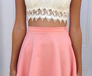 coral, fashion, and cute image