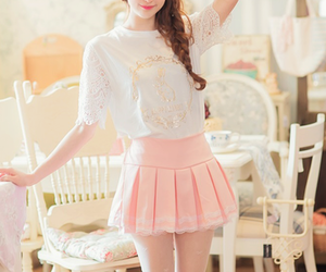 korean fashion and cute image