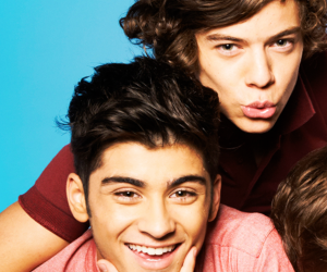 zayn malik, zarry, and Harry Styles image