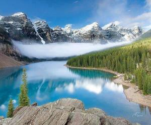 canada and mountains image