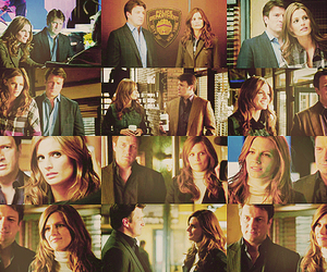 beckett, castle, and castle and beckett image