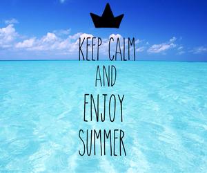 enjoy and summer image