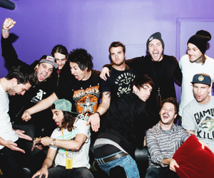 pierce the veil, all time low, and you me at six image