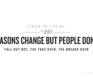 fall out boy, quote, and Lyrics image