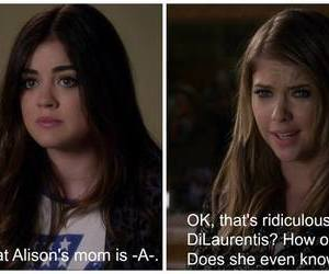 quote, aria montgomery, and hanna marin image