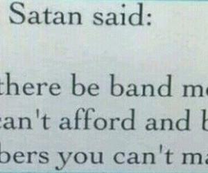 atl, bands, and satan image