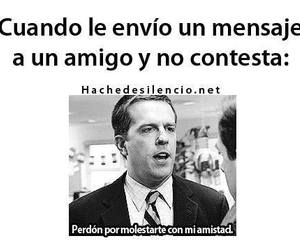 amigos, funny, and frases image