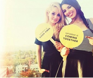 belle, victoria justice, and debby ryan image