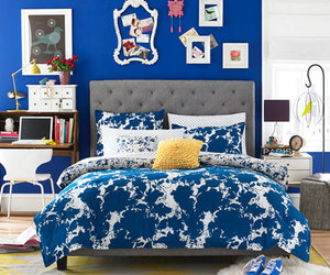 blue and room image