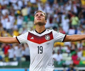 germany, mario gotze, and world cup 2014 image