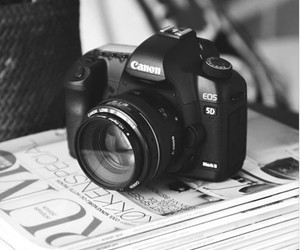 camera and black and white image