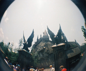 film, fisheye, and harry potter image