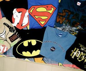 batman, superman, and harry potter image