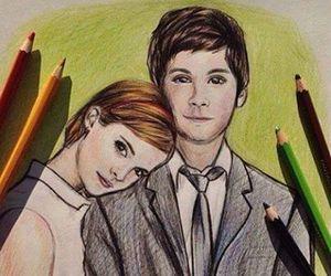 drawing, charlie, and emma watson image