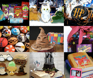 Cookies, harry potter, and sweets image