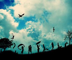 life and sky image