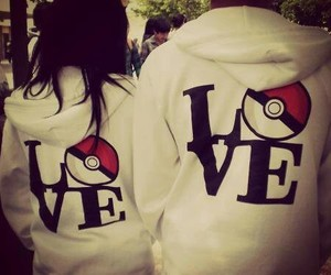 love, couple, and pokemon image