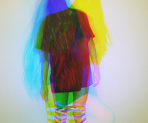 girl and colors image