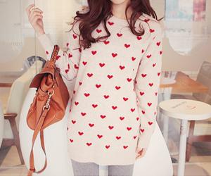 korean, cute, and k-fashion image