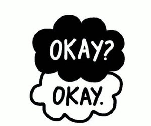 okay?, tfios, and book image