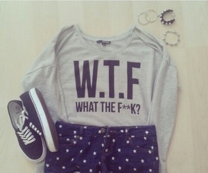 outfit, fashion, and wtf image