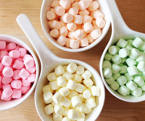 food, marshmallow, and pink image