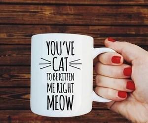 cat, mug, and cute image