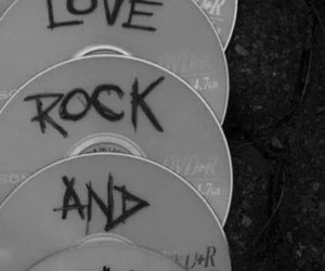 rock, cd, and music image