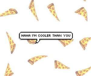 pizza, food, and cool image