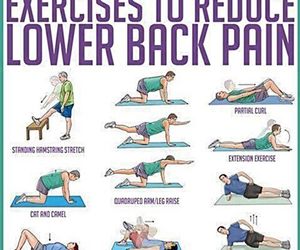 exercise, fitness, and pain image