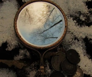 mirror, antique, and photography image