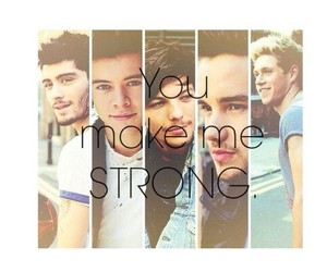 strong, 1d, and niall horan image