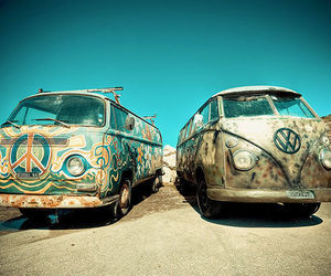hippie and summer image