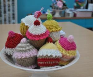cupcakes, diy, and wool image