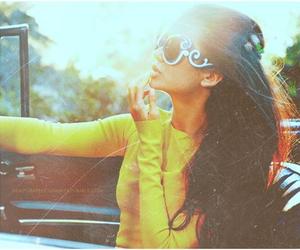 car, fashion, and glasses image