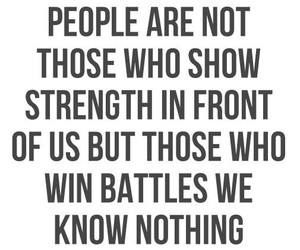 quotes, strong, and battle image