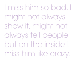 crazy, love, and him image