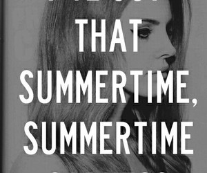 lana del rey and summertime sadness image