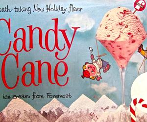 pink and vintage ads icecream image