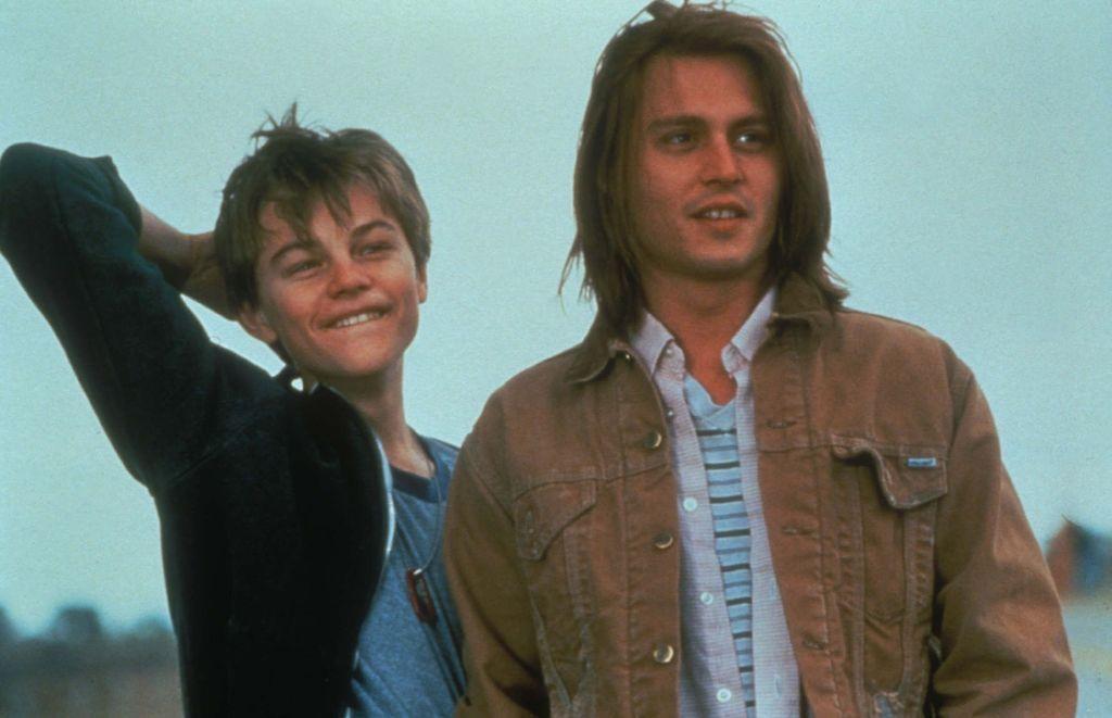 johnny depp, leonardo dicaprio, and young image