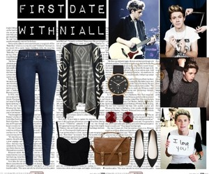 fashion, niall, and first date image