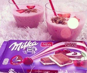 milka, chocolate, and food image