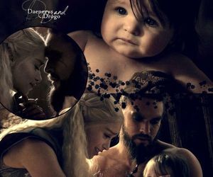 baby, game of thrones, and daenerys image