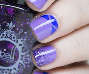 clever, nail, and nail art image
