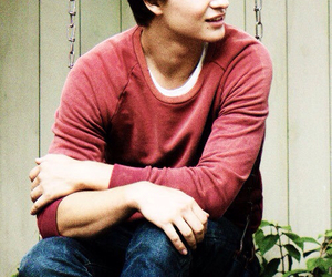 tfios, ansel elgort, and the fault in our stars image