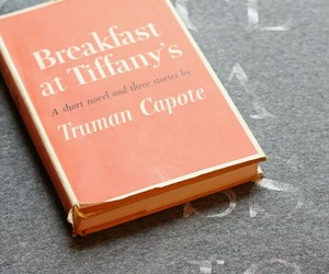 book, Breakfast at Tiffany's, and audrey hepburn image